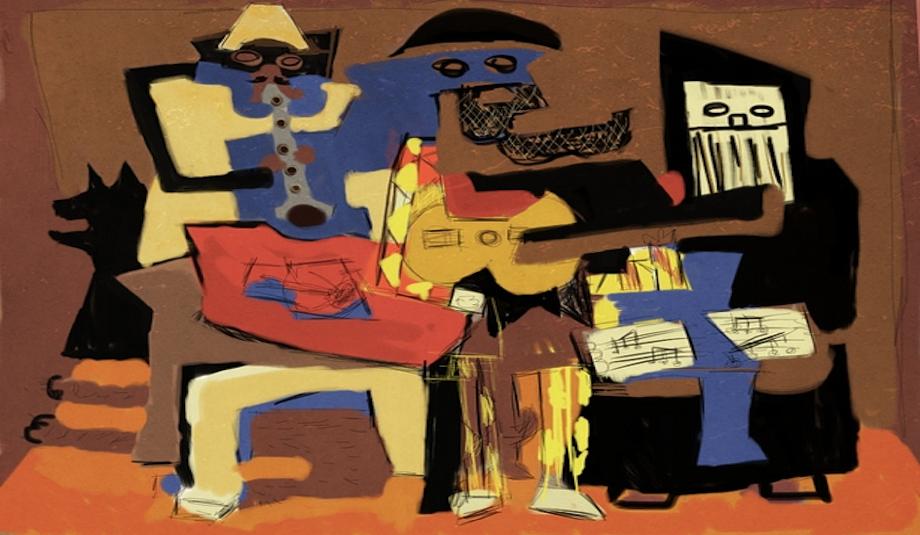 Picasso-Musicians